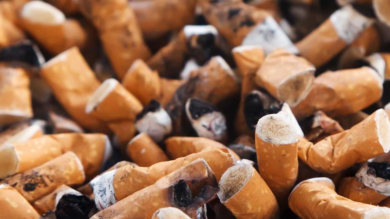 ardor de garganta luego de fumar mucho